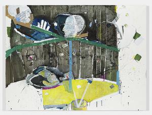 Magnus Plessen @ Gladstone Gallery 515 West 24th Street, New